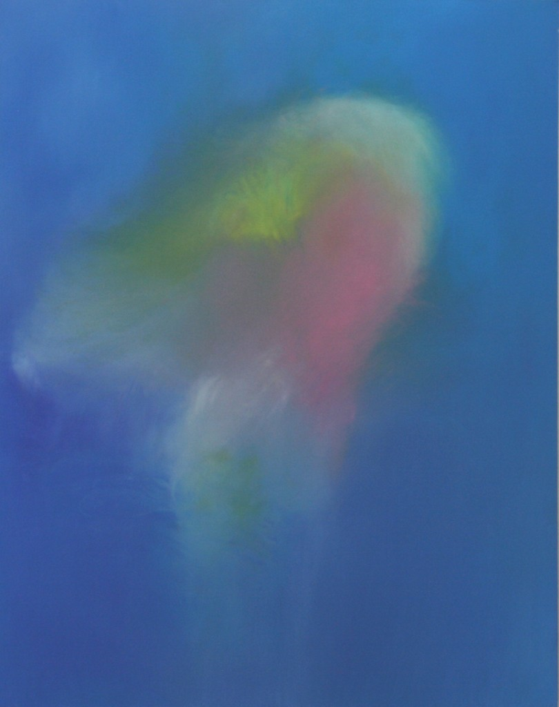"""Coalescence"", 2000-2010, Oil Pigment on Canvas 58""x46"", 147,32x116,84 cm"