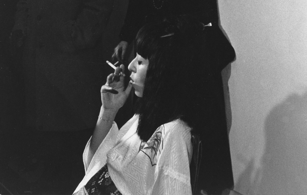 Yoko Toda's Performance at Musée d'Art de la Villöe de Paris, 1975