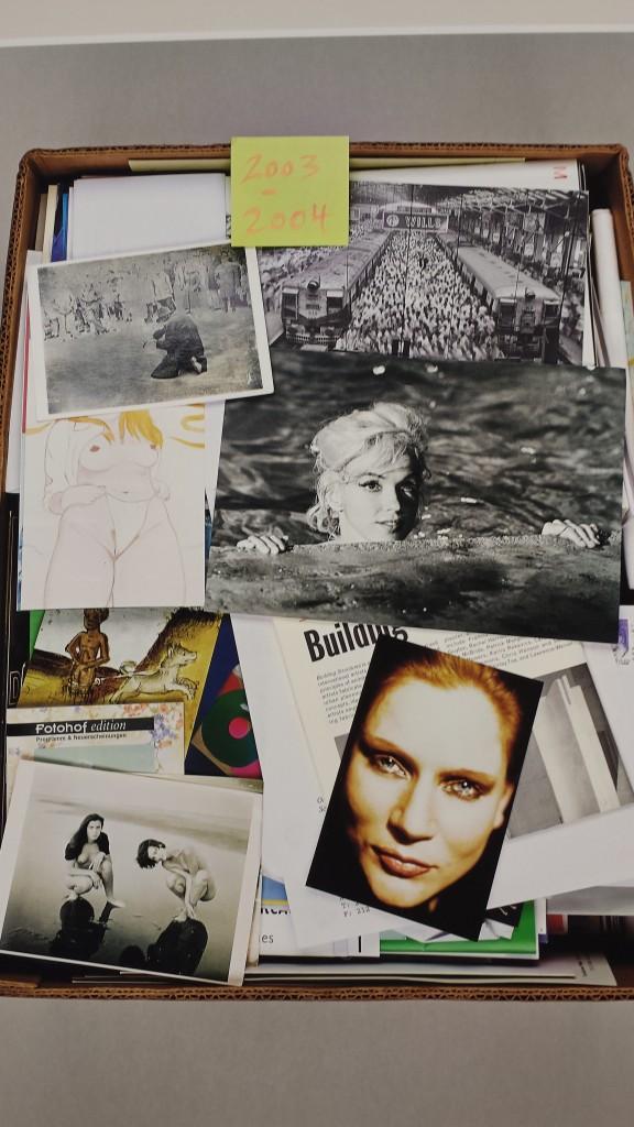 """Katharina Sieverding: """"Weltlinie, 1968 - 2013"""", Installationsansicht, Museum Schloß Moyland Photo: Magdalena Kröner"""