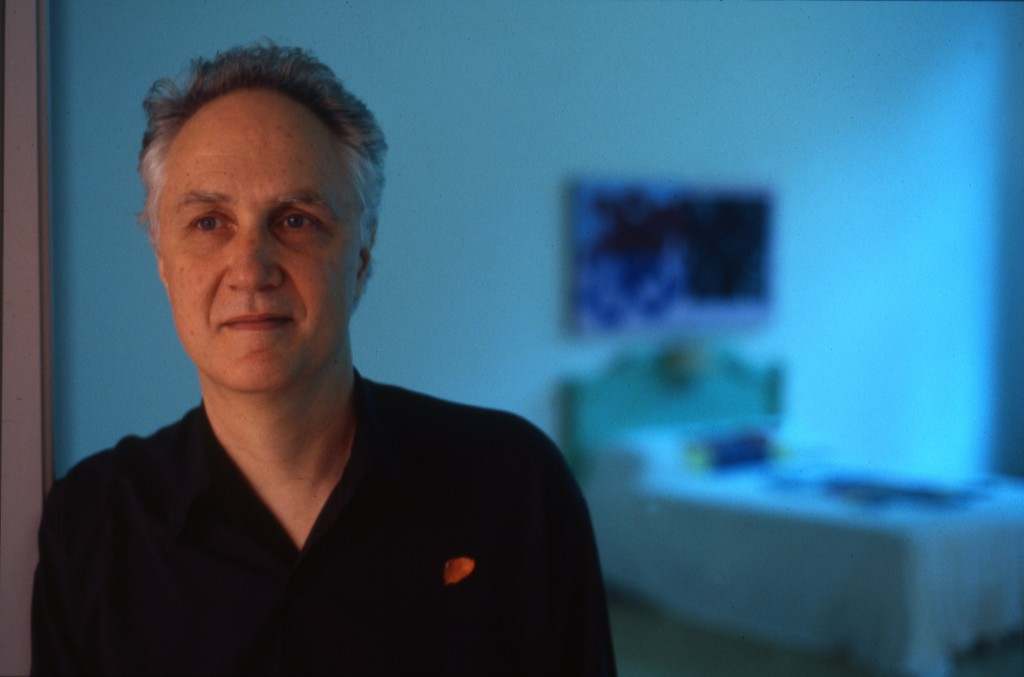 David Reed in his studio, 2013