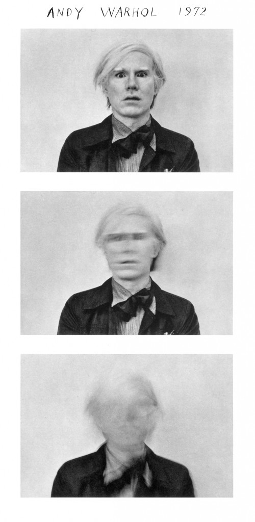 Andy Warhol - 1973 © Duane Michals Copyright Duane Michals. Courtesy Admira, Milan / Galerie Clara Maria Sels, Duesseldorf