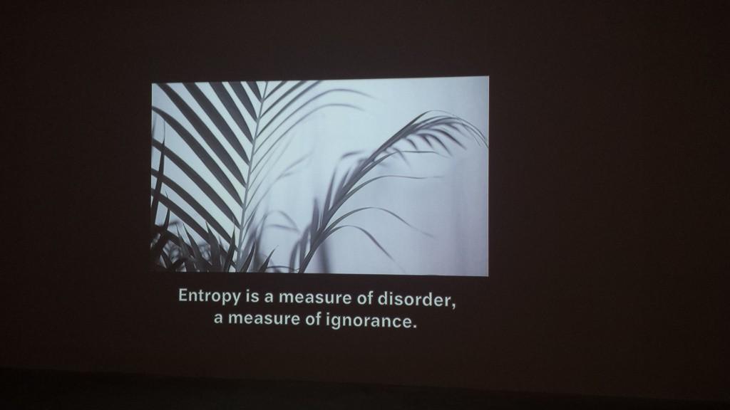 Michael Franz & Nadim Vardag, Entropie, 2012 (HD Film, SW, Ton, 12 min.), Courtesy: Künstler, Georg Kargl, Wien. © Magdalena Kröner