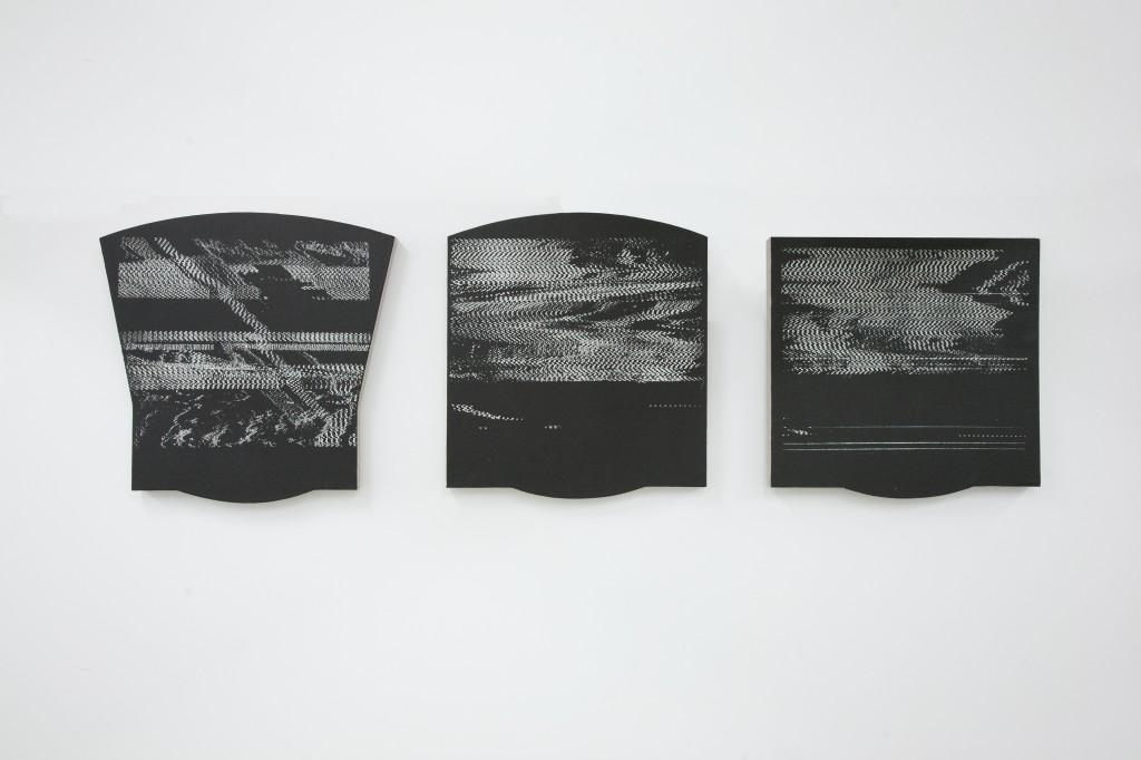 Genevieve Chua, Moth 9, 10, 11, EXIT Gallery, Hongkong