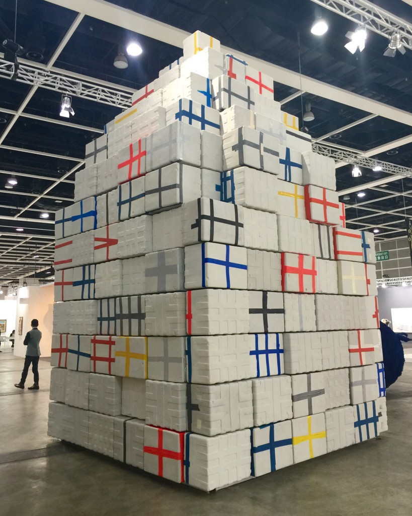 "João Vasco Paiva, ""Mausoleum"", Encounters/Art Basel Hongkong 2015, courtesy Art Basel"