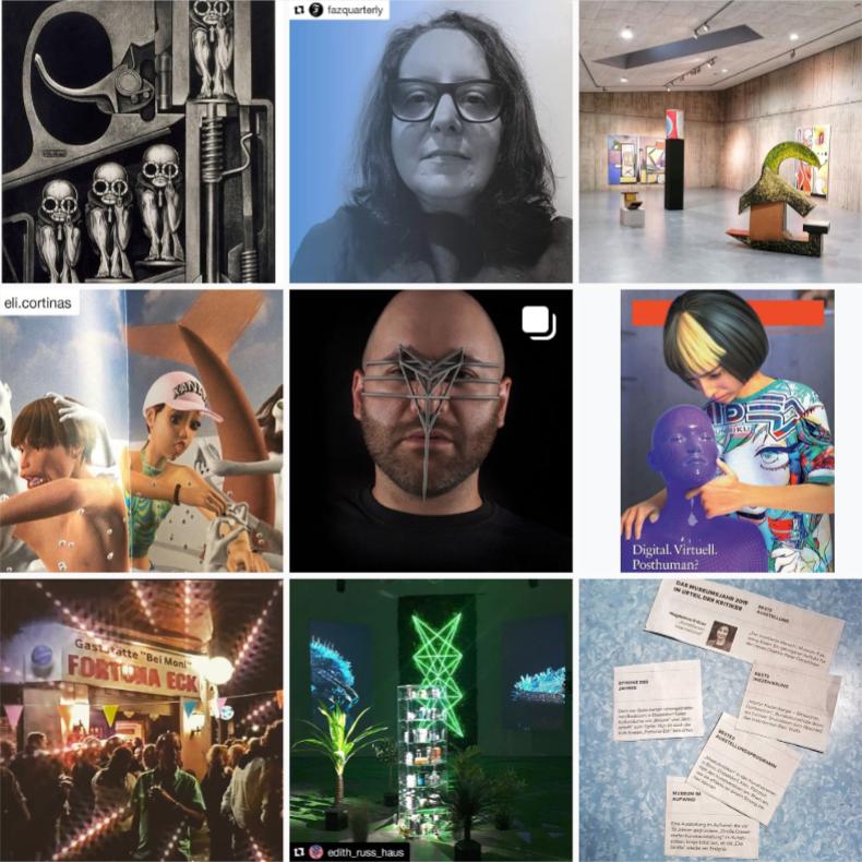 @ Instagram profile preview